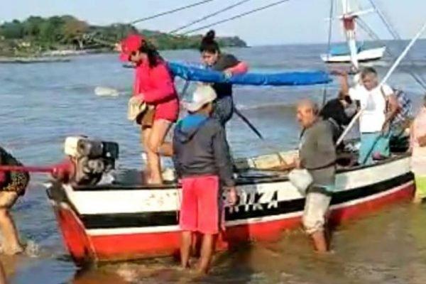 Resgate pescadores no Pará