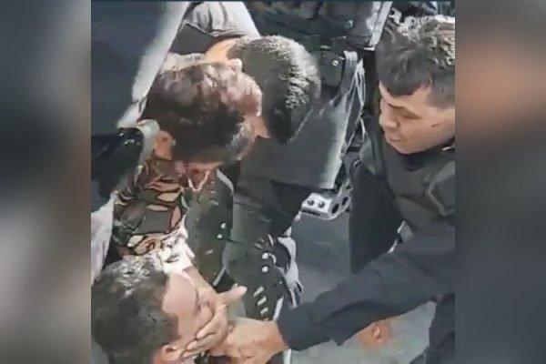 advogado agredido pm goias goiania