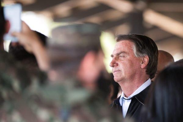 Presidente Jair Bolsonaro participa da solenidade de Passagem de Comando do Comandante de Operações Especiais em Goiania 1
