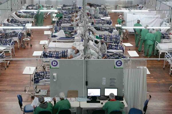 Hospital de Campanha Pedro Dell'Antonia Covid-19 em Santo André