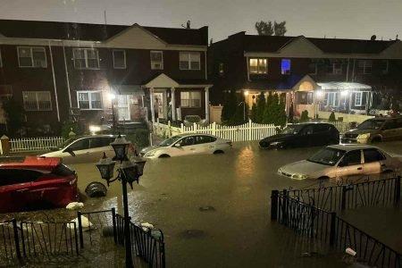 Furacão Ida deixou região de Nova York alagada