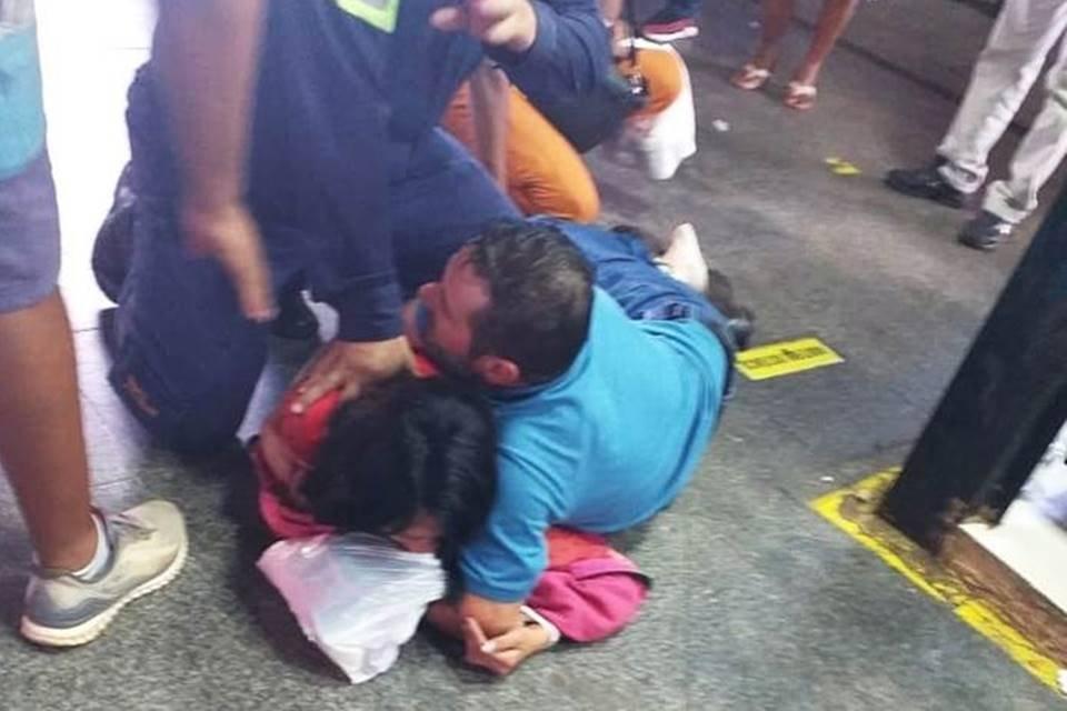 mulher ateou fogo em motorista de ônibus dentro do terminal em goiás