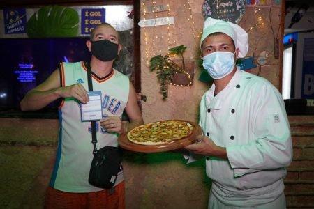 Pizzaria Kanoa oferece desconto a clientes vacinados no Rio de Janeiro