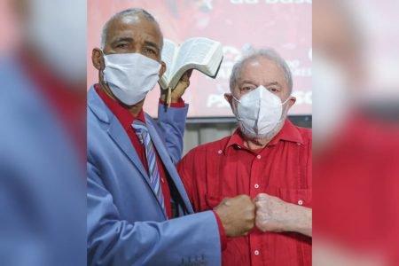 Lula e Pastor Sargento Isidório