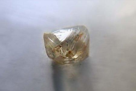 diamante bruto apreendido