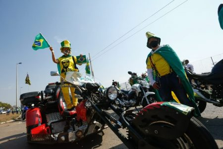 Motocarreata Protesto Goiânia
