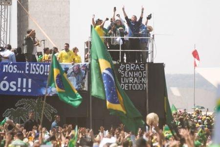 7 de setembro protesto brasil brasilia bolsonaro stf helicoptero esplanada DF 31