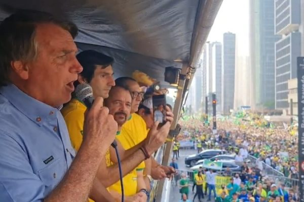 Jair Bolsonaro na Paulista