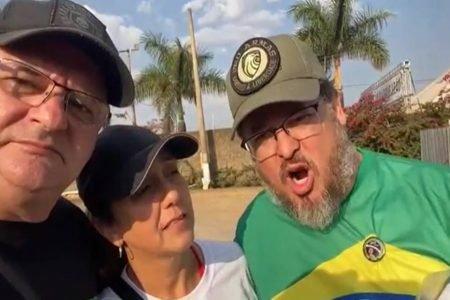 Bolsonarista diz que recebeu autorização da PM para entrar na Esplanada