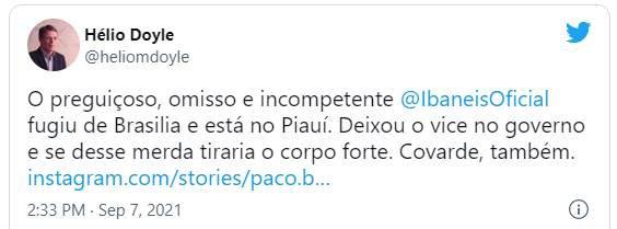 Nota Hélio Doyle