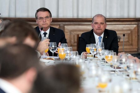 (Brasília - DF, 15/07/2019) Presidente da República, Jair Bolsonaro, durante a 16ª Reunião do Conselho de Governo. Foto: Marcos Corrêa/PR