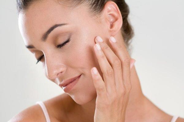 Mulher - pele - skincare
