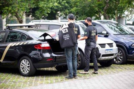 Operação da PF no Rio de Janeiro