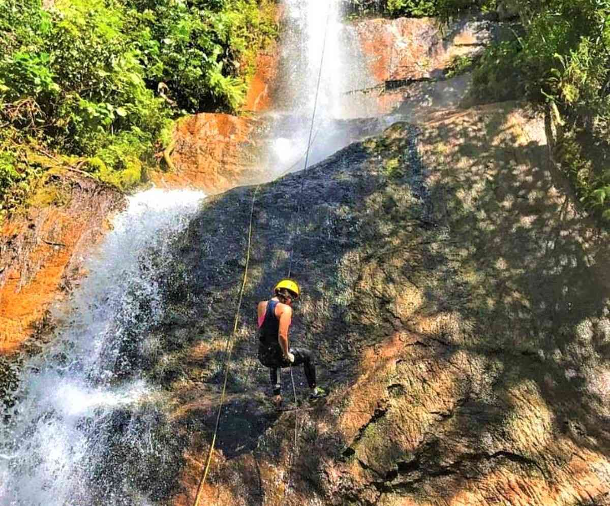 Parque EcoBocaina oferece aventura em um belo cenário