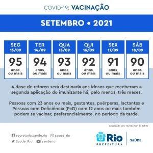 vacinação Rio