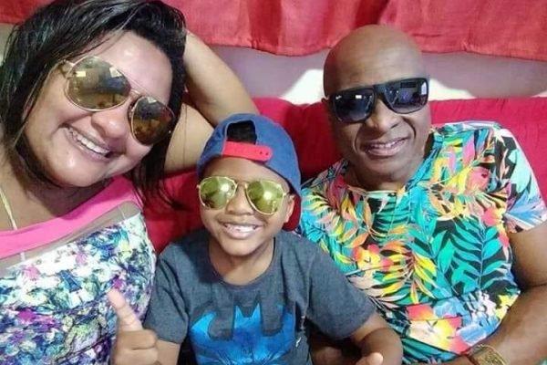 Luciana, Davizinho e Evaldo