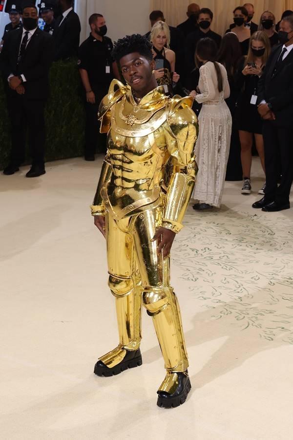 Lil Nas X no Met Gala 2021