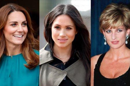 Kate Middleton, Meghan Markle e princesa Diana
