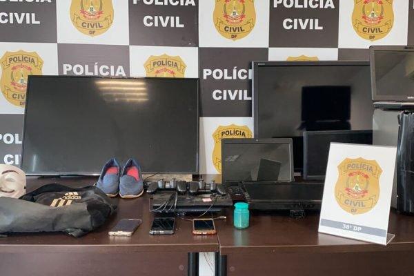 PCDF prende mulher que orquestrou assalto na casa do namorado