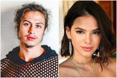 Francisco Vitti e Bruna Marquezine