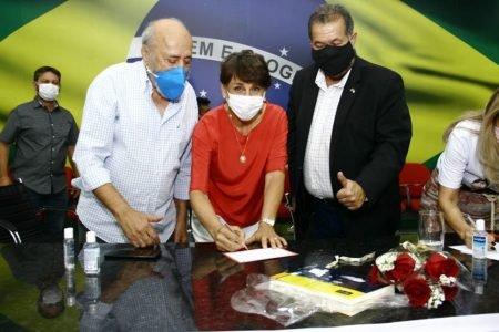 Eliana Pedrosa filia-se ao PDT-DF
