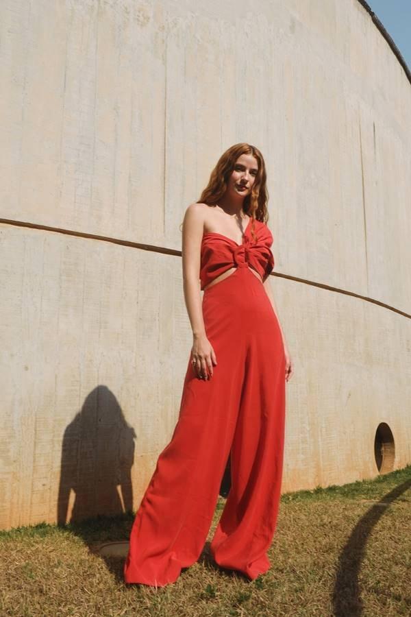 Vestido da coleção primavera/verão 2022 da marca Lu Campos