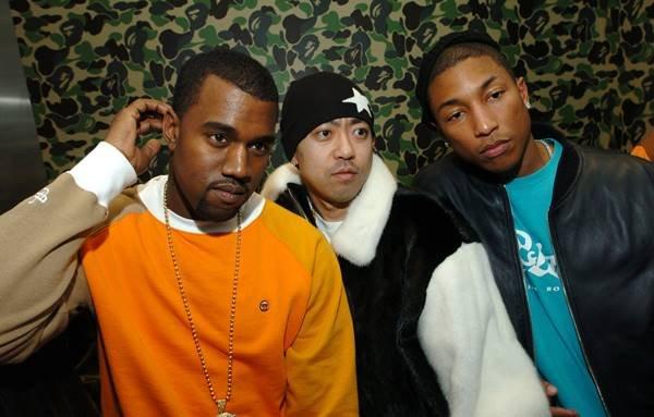 Kanye West, Nigo e Pharrell Williams