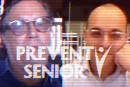 Arte para matéria de ligação do gabinete paralelo com a Prevent Senior