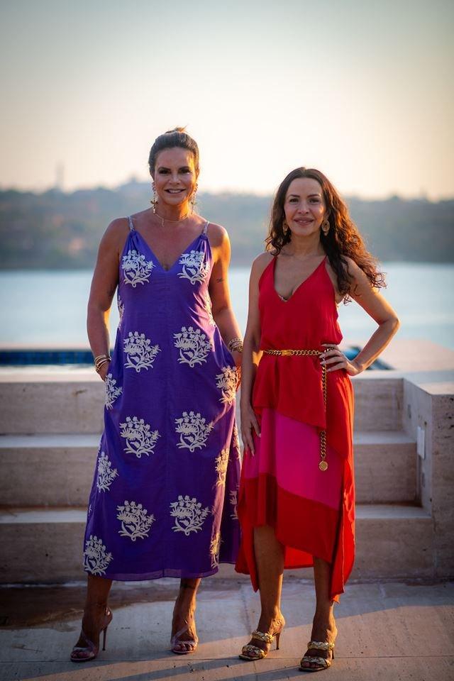 Claudia Salomão e Claudia Meireles