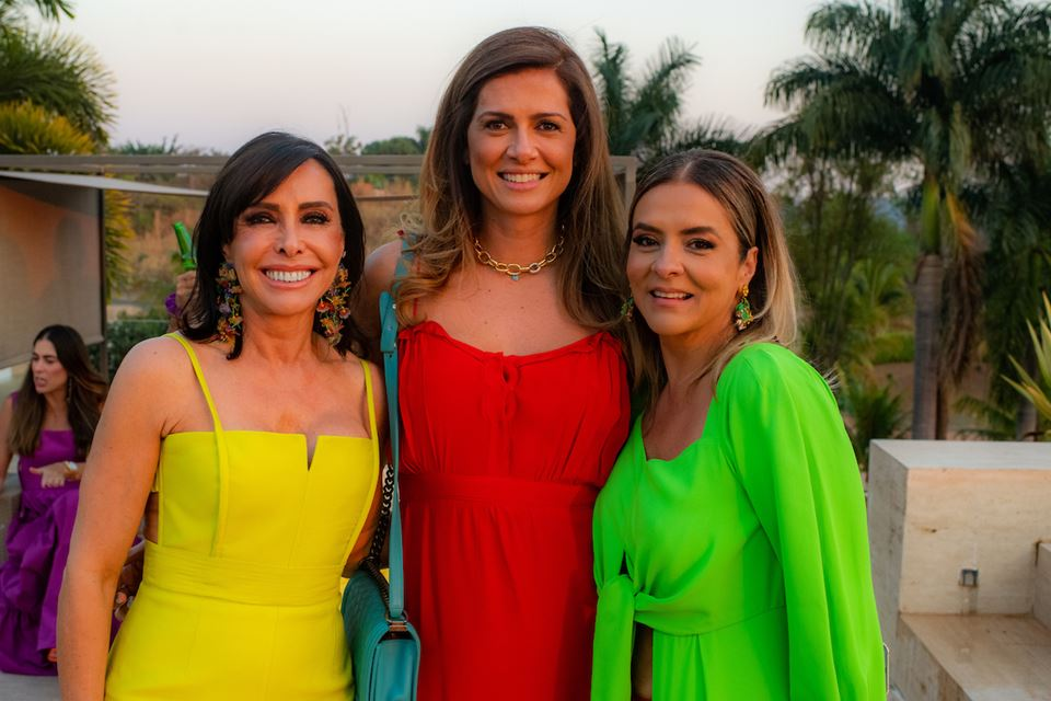 Cleucy Oliveira, Thaienne Fernandes e Silvana Chaves