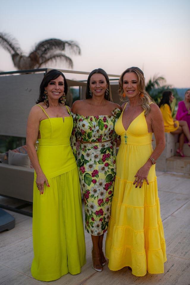Cleucy Oliveira, Vanessa Lemos e Kika Cardoso