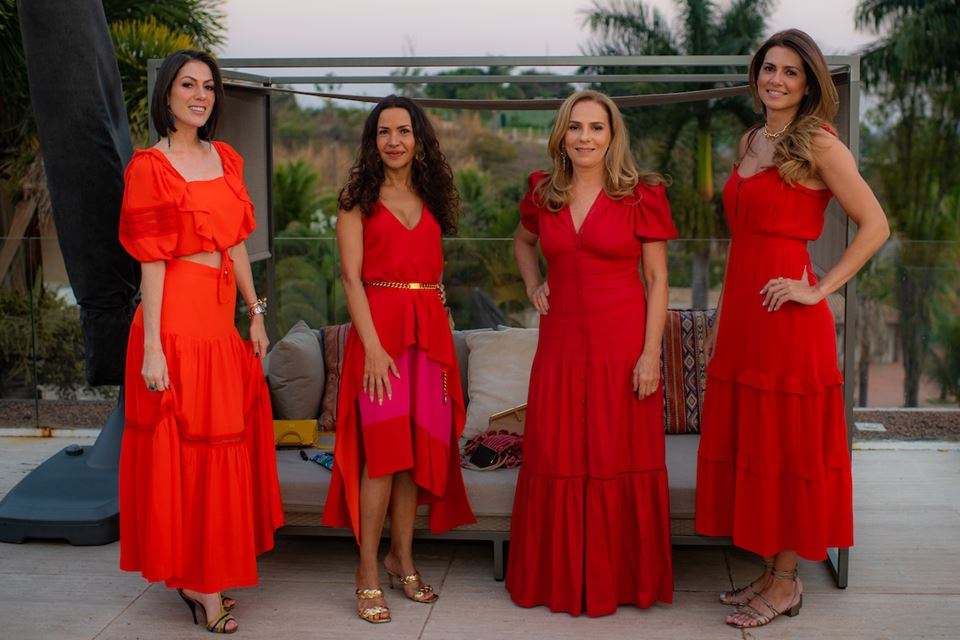 Lara Torres, Claudia Meireles, Lúcia Vellasco e Thaienne Fernandes