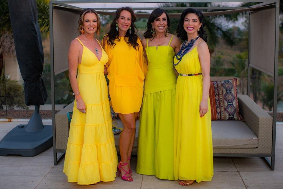 Kika Cardoso, Andréa Cabrera, Cleucy Oliveira e Suely Nakao