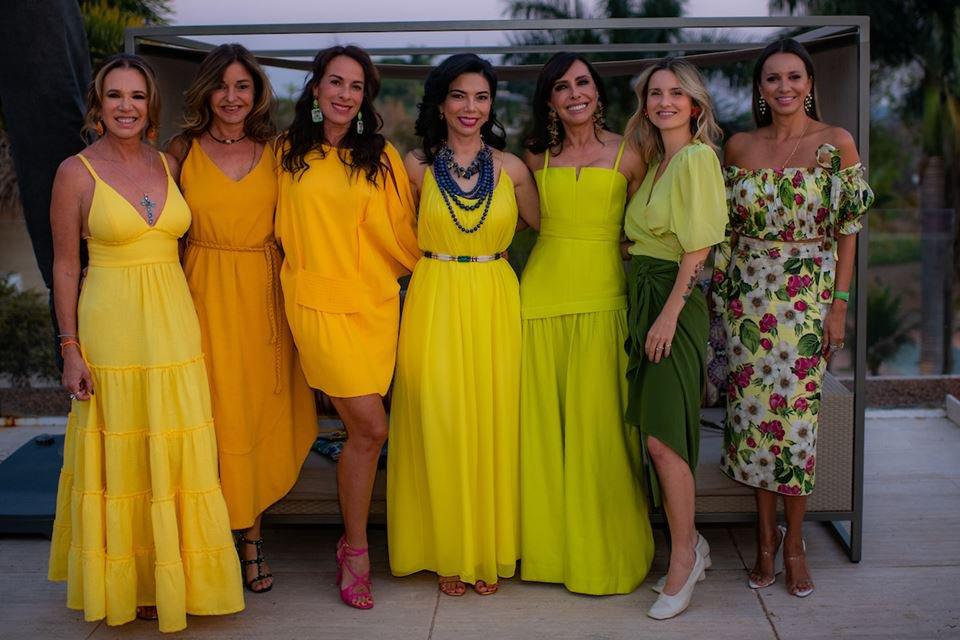 Kika Cardoso, Andréa Cabrera, Suely Nakao Cleucy Oliveira, Lucila Pena e Vanessa Lemos