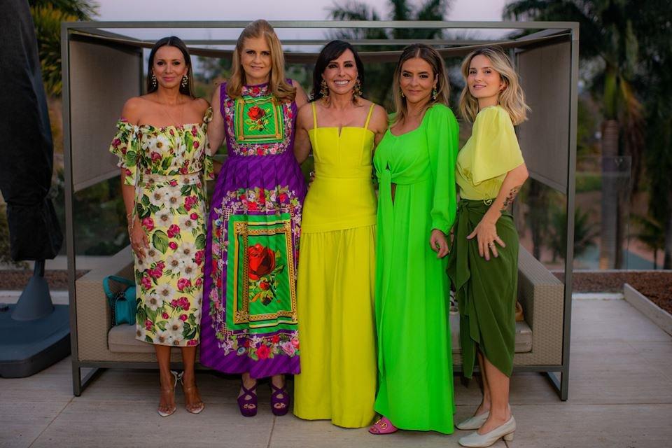 Vanessa Lemos, Glaucia Benevides, Cleucy Oliveira, Silvana Chaves e Lucila Pena