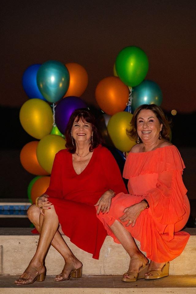 Denise Barbosa e Lúcia Fittipaldi