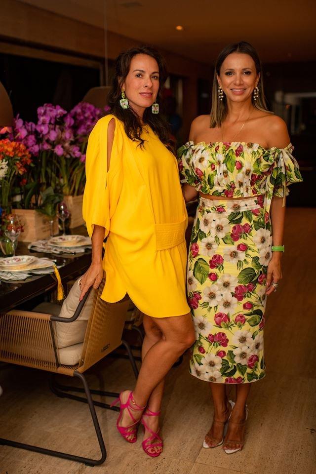 Andréa Cabrera e Vanessa Lemos