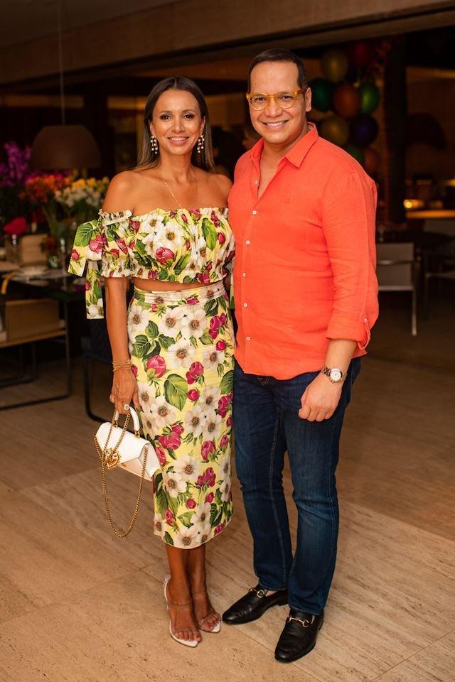Vanessa Lemos e Marcelo Chaves