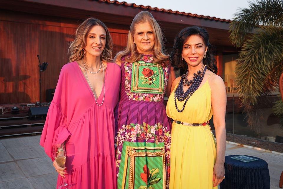 Mayra Perin, Gláucia Benevides e Suely Nakao