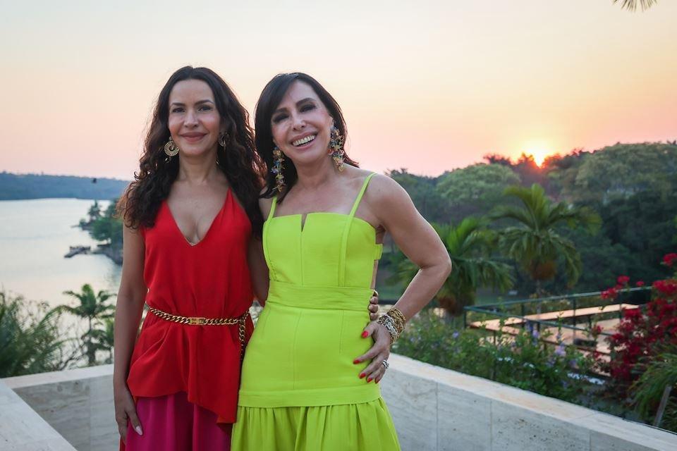 Claudia Meireles e Cleucy Oliveira