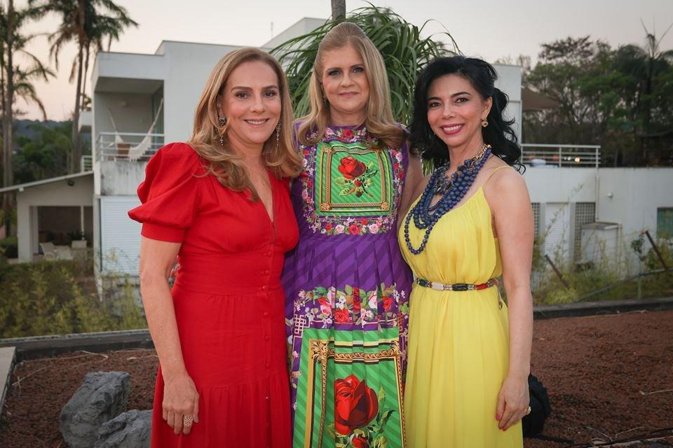 Lúcia Vellasco, Glaucia Benevides e Suely Nakao