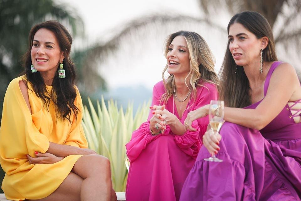 Andréa Cabrera, Mayra Perin e Caroline Collor