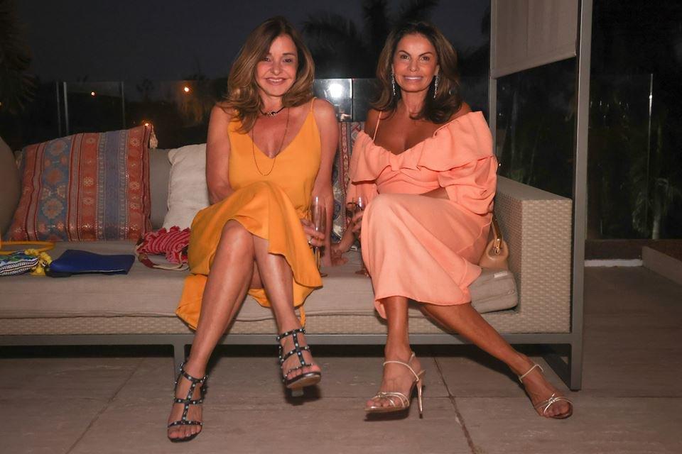 Maura Mendes e Ivana Valença