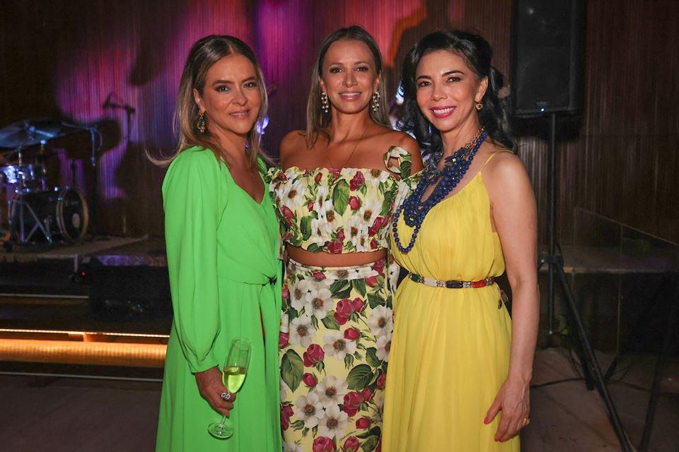 Silvana Chaves, Vanessa Lemos e Suely Nakao