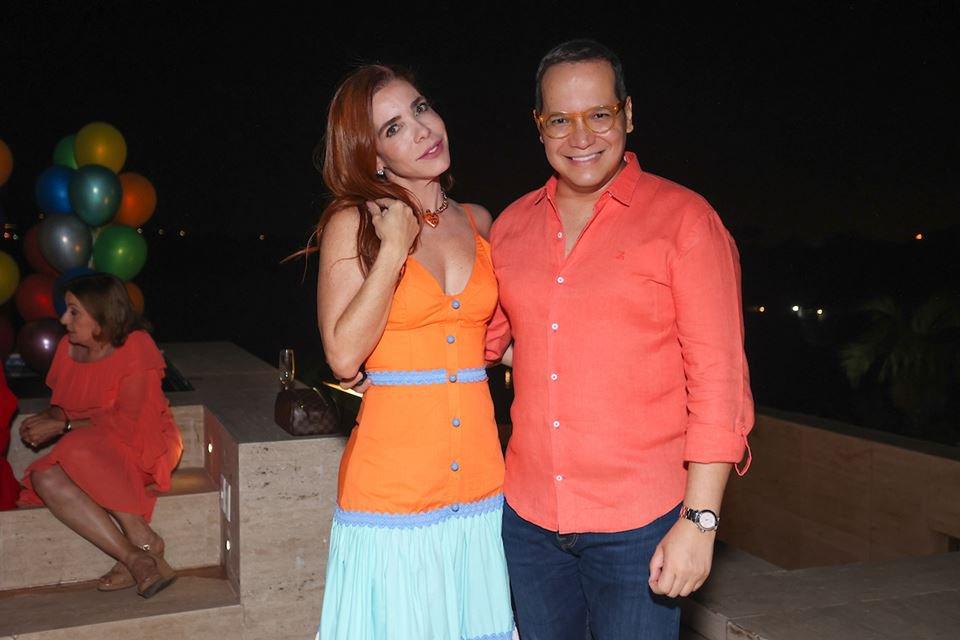 Michella Marys e Marcelo Chaves