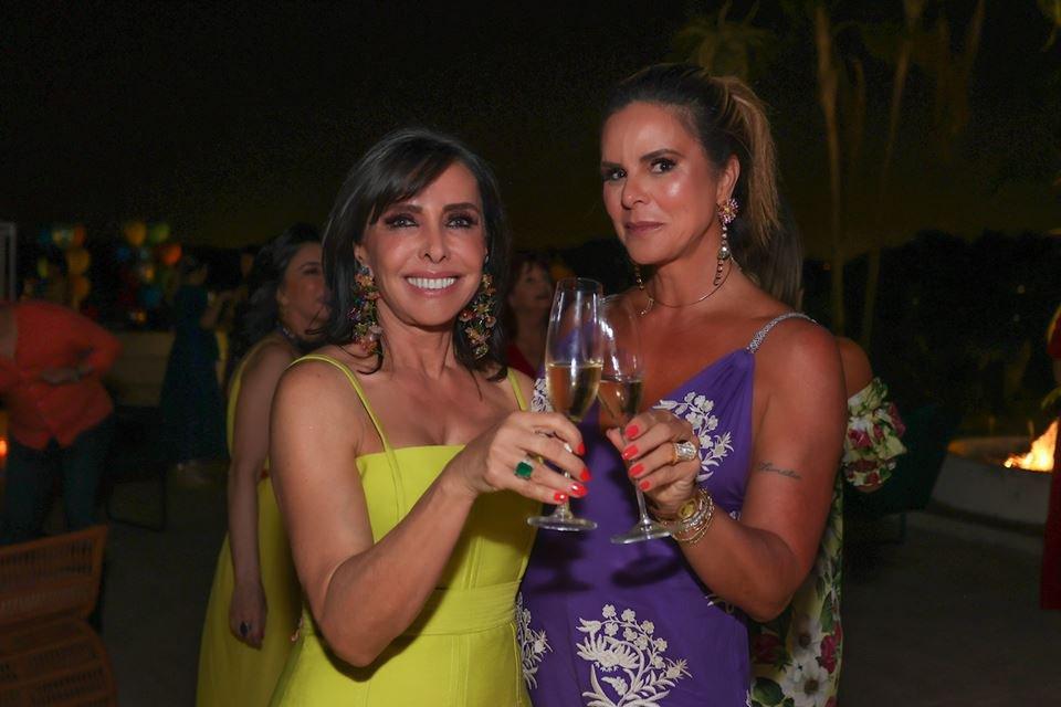 Cleucy Oliveira e Claudia Salomão