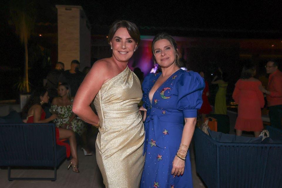 Mônica Fonseca e Geiza Alckmin