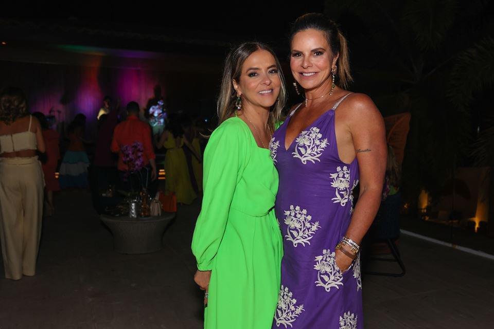 Silvana Chaves e Claudia Salomão