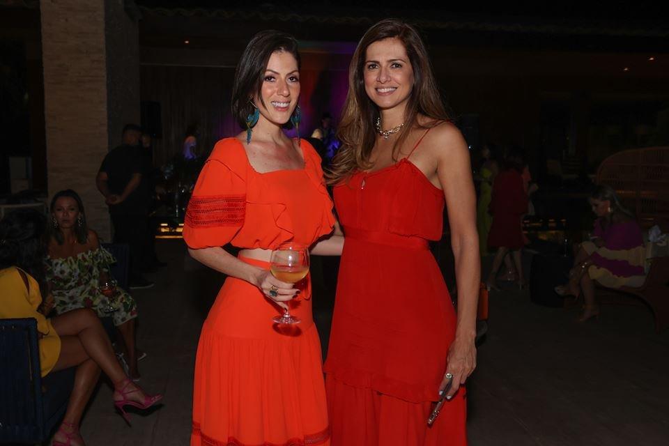 Lara Torres e Thaienne Fernandes
