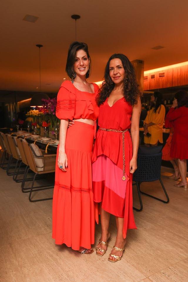 Lara Torres e Claudia Meireles